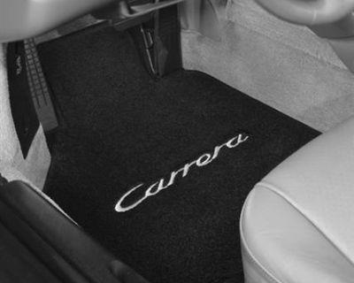Lloyd Floor Mat, 4-piece (front & Rear), Plain Set For Porsche Models