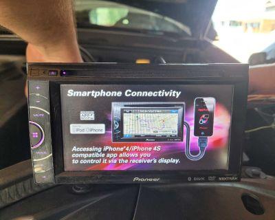 "Pioneer 2din Bluetooth 6"" touchscreen deck"