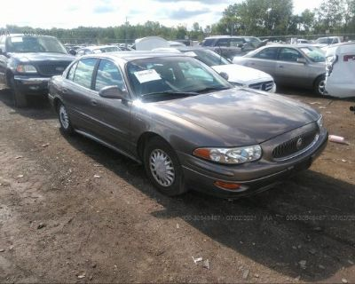 Salvage Gold 2003 Buick Lesabre