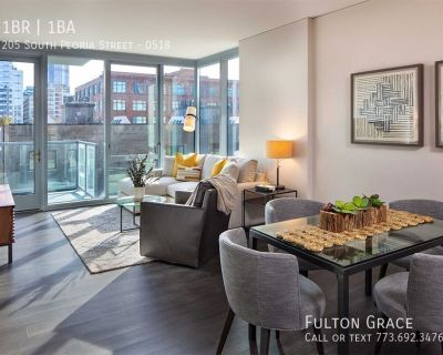 Gorgeous 1 Bedroom Luxury Apartment Ready to Move-in