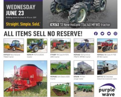 June 23 ag equipment auction