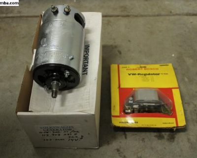 Rebuilt 12V Bosch Generator & NOS Regulator