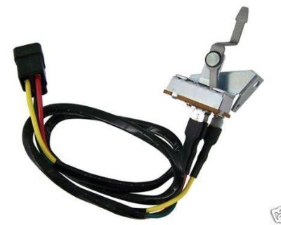 Blower Switch - Heater Only - 1965 1966 Mustang - [24-0588]