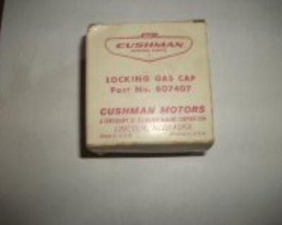 New Cushman Locking Gas Cap