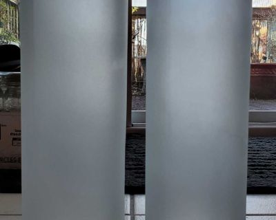 Frosted Glass Storage Container