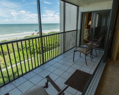 Direct Gulf Front Sundial E208 Two Bedroom plus Den - Completely Remodeled! - Sanibel