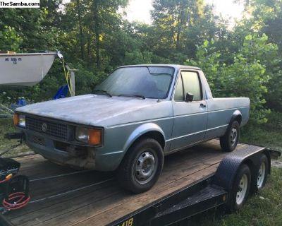 1983 Caddy / Rabbit Truck project