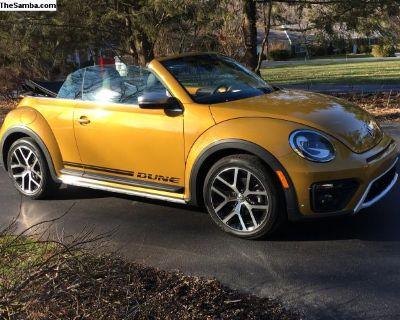 2017 New Beetle Dune Convertible
