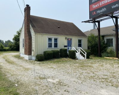 Freestanding commercial with parking on Preston Highway