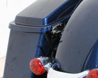 "Harley Davidson Touring 6"" Skinny Stubbie Solid Stainless Am/fm Antenna Black"