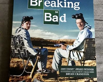 DVD tv series Breaking Bad season two