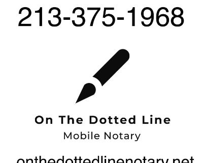 Mobile Notary - Will Come To You