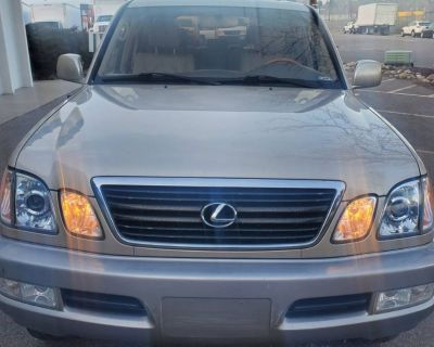 2001 Lexus LX LX 470