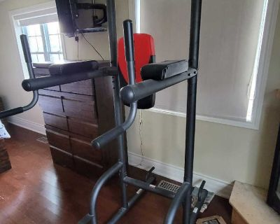 Weider power tower- barely used