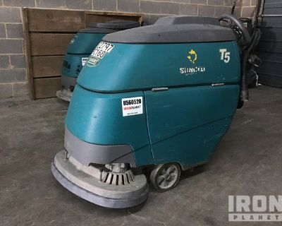 2013 (unverified) Tennant T5 Electric Walk Behind Scrubber
