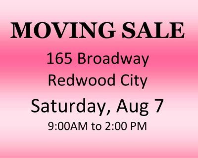 Big Moving Sale