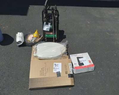 Gas Pressure Washer,2 toilet Seats, Neatgear Router