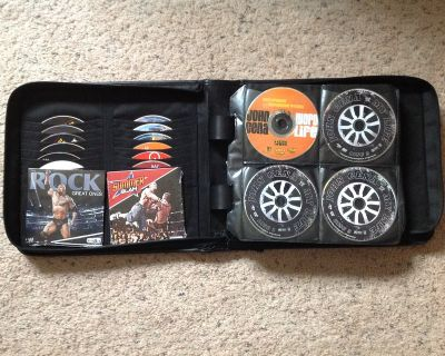 150+ WWE DVDs Collection