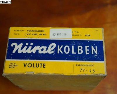 NOS Nural Piston Set 1300CC -113107116 West German