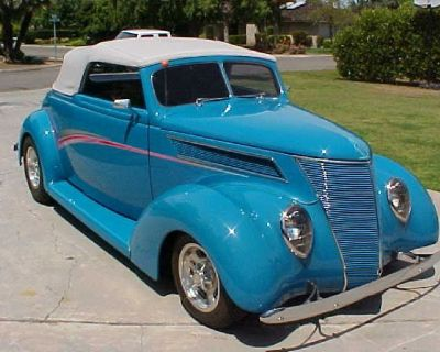 1937 ford steel club cabriolet trade offers over under 49500
