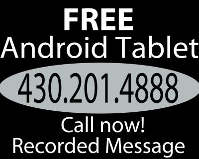 FREE Android Tablet - (new in box) no kidding... 430.201.4888