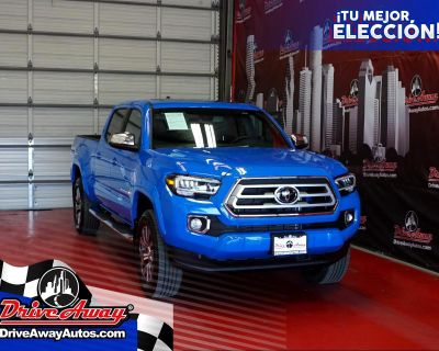 2021 Toyota Tacoma 4WD Limited Double Cab 6' Bed V6 AT (Natl)
