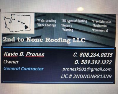 2nd to None Roofing LLC