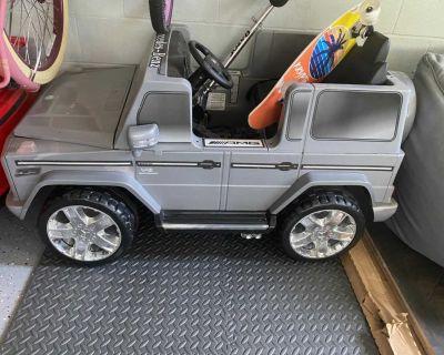 Mercedes Jeep power wheels