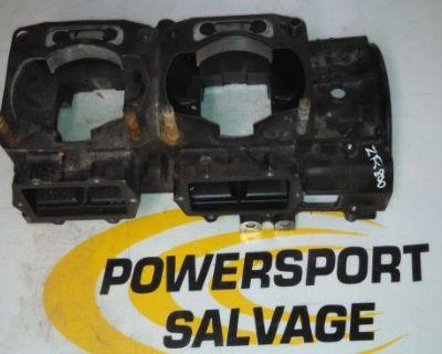 01 02 03 Arctic Cat Zr Zl 800 900 Engine Crankcase Crank Case Upper Half Intake