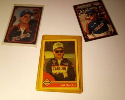 90's Nascar trading cards for sale!
