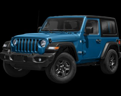 New 2021 Jeep Wrangler Sport S 4WD Convertible