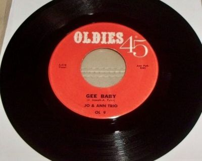 J0 & ANN TRIO ~ Gee Baby/Wherever You Are*M-45 !