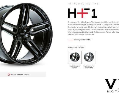 Vossen Hybrid Forged Series - HF-1 HF-2 HF-3 HF-4T HF-5 - Member Pricing - Team VIBE