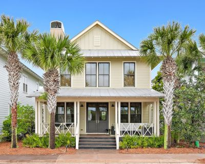Beautiful House Close to Beach w/Free WiFi, Shared Pool/Hot Tub, Private W/D, AC - Dune Allen Beach