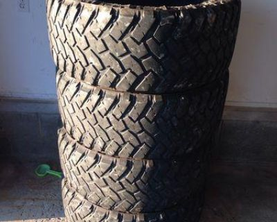 4 Used 305/55-20 Nitto Trail Grappler Mt Tires 55r20 R20 55r 305 55