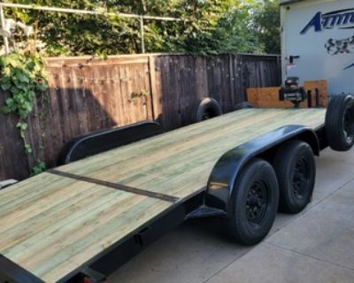 Carson heavy duty equipment trailer/car hauler