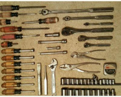 Vintage Craftsman hand tools