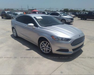 Salvage Silver 2013 Ford Fusion