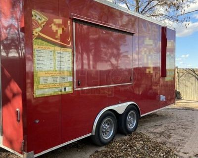Lightly Used 2020 Worldwide 8.6' x 18' Turnkey Pizza Concession Trailer
