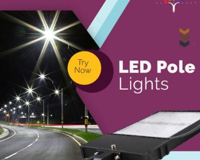 Buy the Best LED Pole Lights at Low Price