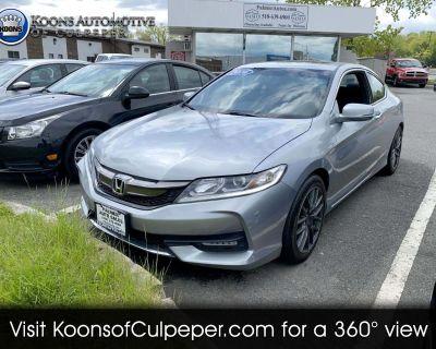 Used 2016 Honda Accord EX Coupe CVT
