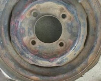 """12"""" Wheel Nash Mini Cooper Classic 1960 1958 Please Identify"""