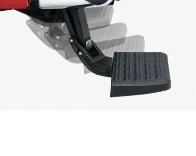09-12 Dodge Ram 1500 W/ Oem Dual Exhaust Amp Research Flip Down Bumper Bed Step