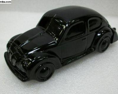 Beetle Avon Cologne Decanter Bottle - Black