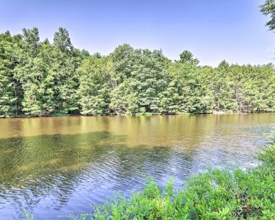 New! Grand Lakeside Home w/ Game Room, Gym & More - Henryville