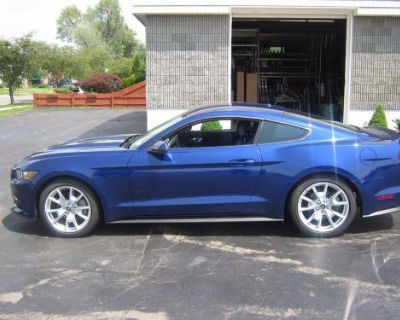 """2015 2016 Ford Mustang 2.3 Turbo Eco-boost Axle Back 2.5"""" Coupe *polished Tips*"""