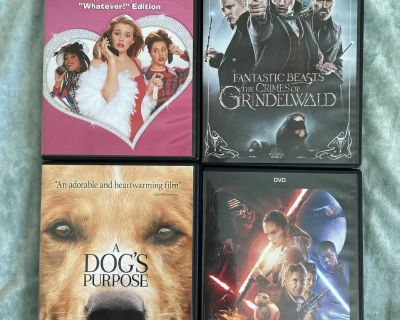 4 DVD S for $2