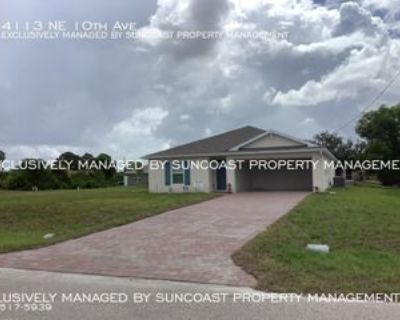 4113 Ne 10th Ave, North Fort Myers, FL 33909 3 Bedroom House