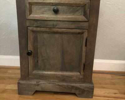 End table/nightstand/storage cabinet