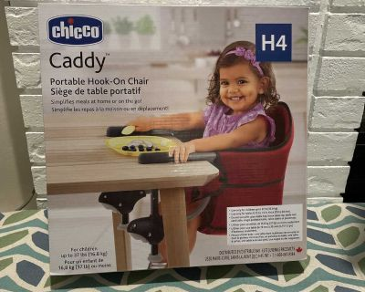 Chicco NEW IN BOX Portable Hook-On Chair